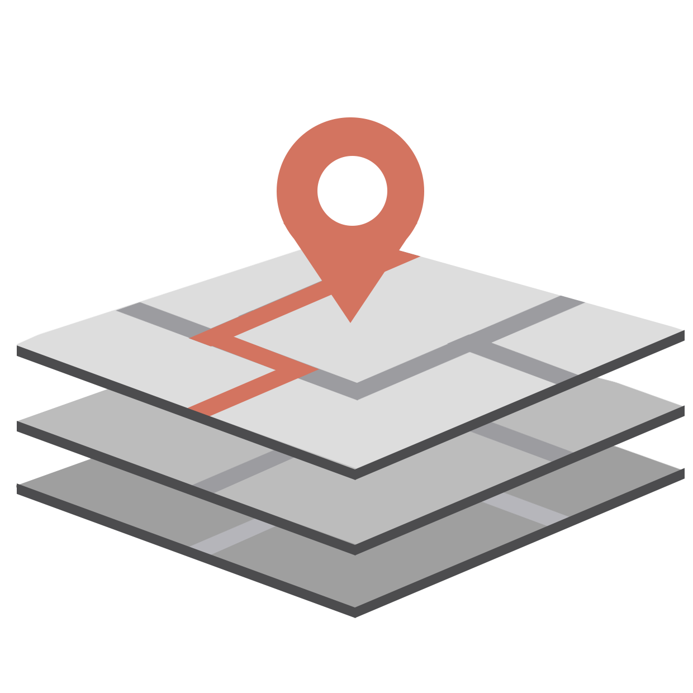 Visualiza capas de información geográfica relacionadas a la Provincia de San Juan.