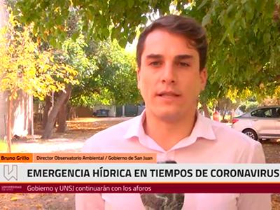Emergencia hídrica en tiempos de coronavirus.