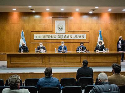 Avanza la elaboración del diagnóstico interinstitucional sobre la situación hídrica de San Juan
