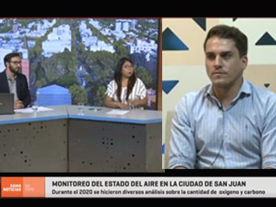 Estudio sobre la calidad del aire en la Ciudad San Juan